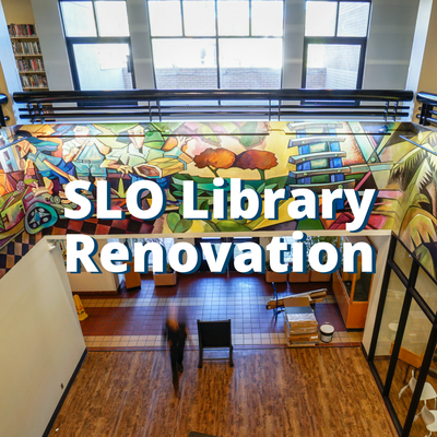 SLO Library Renovation